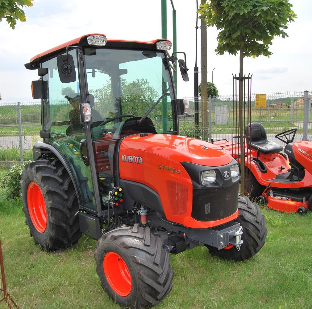 f758f1cc82cf4 KUBOTA STW 34/37/40 Ciągniki dla większych gospodarstw! Zobacz!